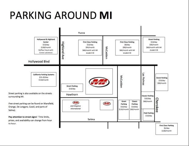 Local Parking Map for MI
