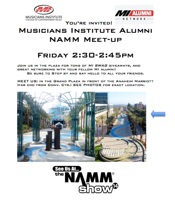 NAMM ALUMNI MEET UP