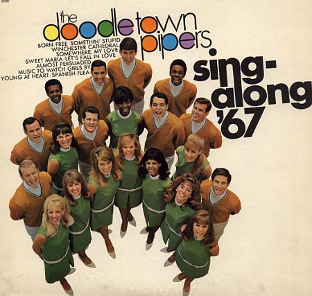 Prior to becoming a well-respected Jazz Vocalist and educator, Mike was a member of this group that appeared on TV regularly.  Mike is in the lower left corner. ca.1967