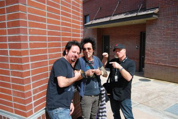 Luke, Earl Slick and MM