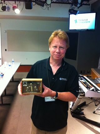 Paul Youngblood with the first Boss pedal ever made