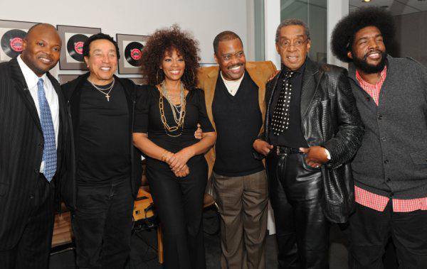 With Cuba Gooding, Smokey Robinson, , Questlove, et al