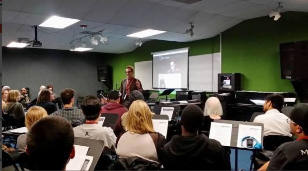 Jan 2014: Musicians Institute Career Development NAMM Networking Seminar