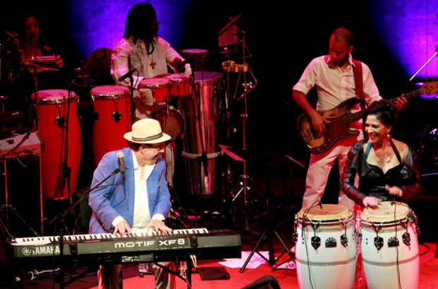 With Sergio Mendes at Disney Hall New Years Eve 2014