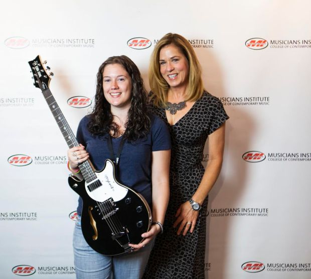 Khadejhia K with Bangles Guitarist Vicki Peterson