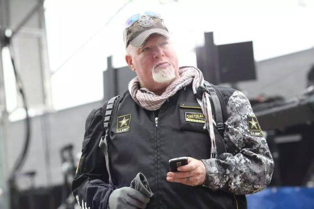 Steve Robinson, Veterans Advocate.